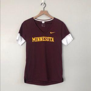 Minnesota Gophers V Neck Shirt